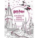 Harry Potter Kouzelná místa a postavy omalovánky