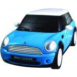 Albi 3D Puzzle auto MiniCooper modré