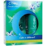 C-THRU Emerald Shine EdT 30 ml a deodorant Emerald Shine 150 ml dárková sada