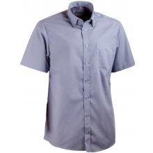 Aramgad šedá košile s knoflíčky v límečku rovná 40138