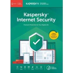Kaspersky Internet Security 1 lic. 1 rok (KL1939X5AFR)