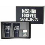 Moschino Forever Sailing EdT 4,5 ml + sprchový gel 25 ml + balzám po holení 25 ml dárková sada
