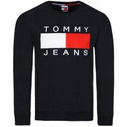 Tommy Hilfiger pánská mikina 90s Jeans Big Flag Black alternativy ... 02d786a8912