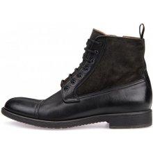 Geox pánská kotníčková obuv Jaylon černá