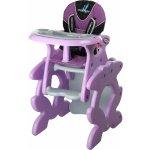 Caretero Primus purple jídelní židlička