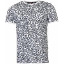 Soviet Paisley T Shirt White