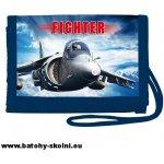 Stil Peněženka na krk Fighter letadlo modrá