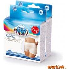 Canpol Babies multifunkční kalhotky po porodu 2ks bílá