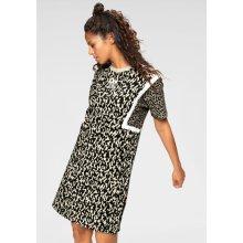 Adidas Originals žerzejové šaty Leoflage tee dress leopardí vzor 02d2f9f8e2
