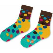 54bddcfd4dc Happy Socks Barevné ponožky s kávovým pruhem