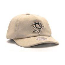 Mitchell   Ness Throwback Pittsburgh Penguins Khaki Snapback žlutá   žlutá 62a558e08f