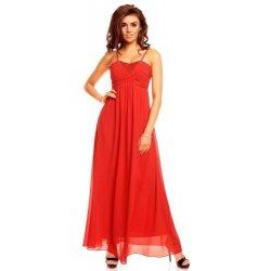 eda9aaba44e Luxusní červené dlouhé šaty Francie od 1 299 Kč - Heureka.cz
