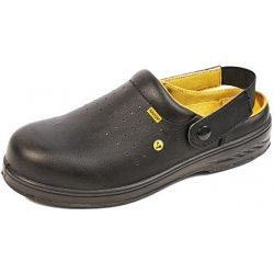 Pracovní obuv ADAMANT RAPIDO polobotky OB SRC - černé