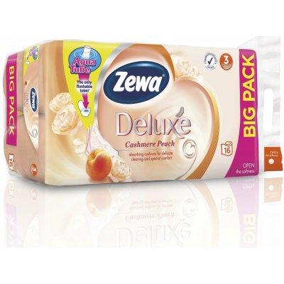 Zewa Deluxe Cashmere Peach 3-vrstvý 16 ks