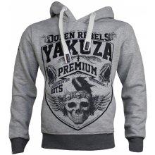 Yakuza Premium Pánská mikina 2422 šedá 5aca5c1d800