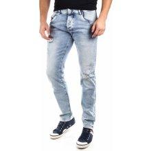 Pepe Jeans pánské jeansy Stanley světle modrá 535c96e7ac