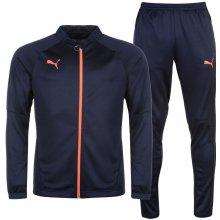 Puma Essential Track Suit Mens Navy/Coral