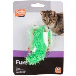 Karlie hračka kočka Had vrtící se natahovací 4x17cm