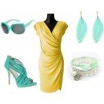 Dámské elegantní pouzdrové, zeštíhlující šaty