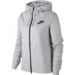 02368cc9986b Dámská mikina Nike W NSW AV15 Hoodie FZ 930899-021 šedá