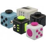 Fidget Cube antistresová kostka šedý černý