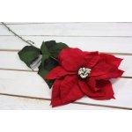 Vánoční květ - červený (v. 70 cm)