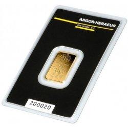 Argor Heraeus SA Zlatý slitek 5 g