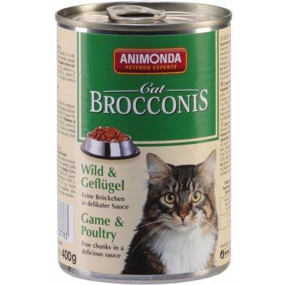 Animonda Cat Brocconis zvěřina & drůbeží 400 g