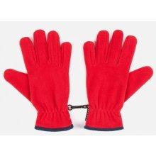Brekka Dětské fleecové rukavice červené 410ef795f2
