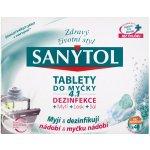 Sanytol 4v1 tablety do myčky nádobí 40 ks