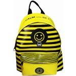 MAKENOTES batoh KEEP CALM velký žlutý