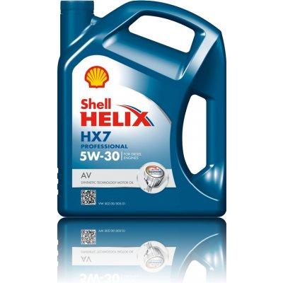 Shell Helix HX7 Professional AV 5W-30 5 l