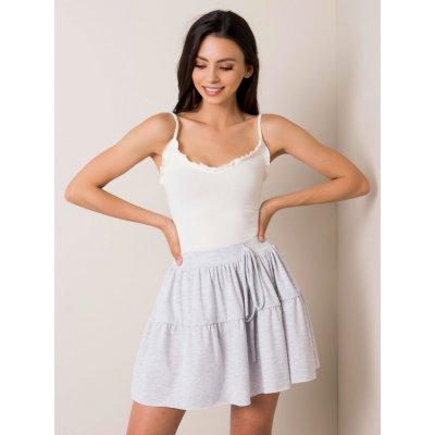 Dámská sukně se šnůrkou rv-sd-5678.31 light gray