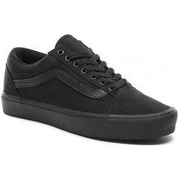 Skate boty Vans Old Skool Lite canvas black black 708d6bbea46