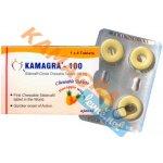 Kamagra 100 mg - 1 balení 4 ks
