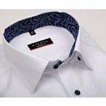 Eterna Modern Fit - bílá košile s jemnou strukturou a vnitřním límcem a  manžetou 69d994310b