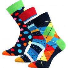 Lonka ponožky Woodoo mix A - 3 páry 5f4a4b6e84