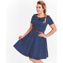 62214f4a324c Milano Moda dámské šaty Mollie MM03 tmavě modrá