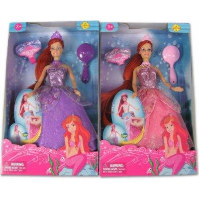 Made Panenka Lucy mořská panna 2 v 1 fialové šaty