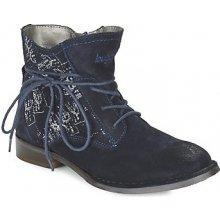 Bugatti kotníkové boty LEEALE modré