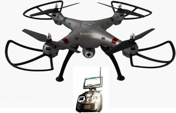 K800FPV - RC dron s online přenosem na obrazovku vysílače - RC 17049 od 5  990 Kč - Heureka.cz acc90d030d