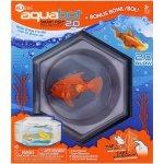 HEXBUG Aquabot LED s akváriem oranžová