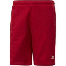 aad3306fb04 Adidas Kraťasy   Bermudy Šortky 3-Stripes Červená