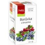 Apotheke Green Borůvka a brusinka 20 x 2 g