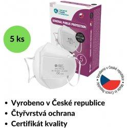 General Public Protection respirátor GPP2 FFP2 NR CE 5 ks