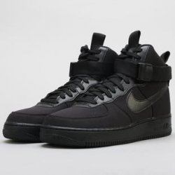7f9f899e812 Nike Air Force 1 High  07 Canvas black   black anthracite