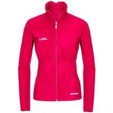 Neywer dámská funkční elastická sportovní bunda růžová EB336