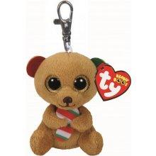 Přívěsek na klíče Plyšový hnědý medvídek Bella s velkýma očima 8 6c6d86e5cbf