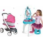 Smoby dětský kosmetický stolek a kočárek retro Maxi Cosi & Quinny 320214 16