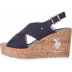 8d607a932d14 Dámská obuv Theba Klínová obuv U.S. Polo Assn Modré Dámské